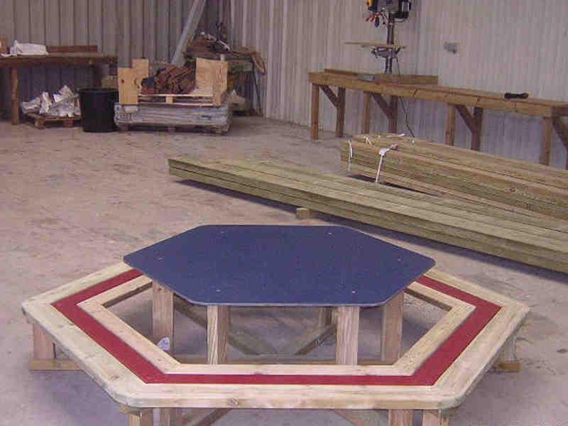 bois loisirs creationsaccueil nos produits table pique nique en bois. Black Bedroom Furniture Sets. Home Design Ideas